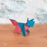 Création d'origami : Renard - DOUX POUR VOUS