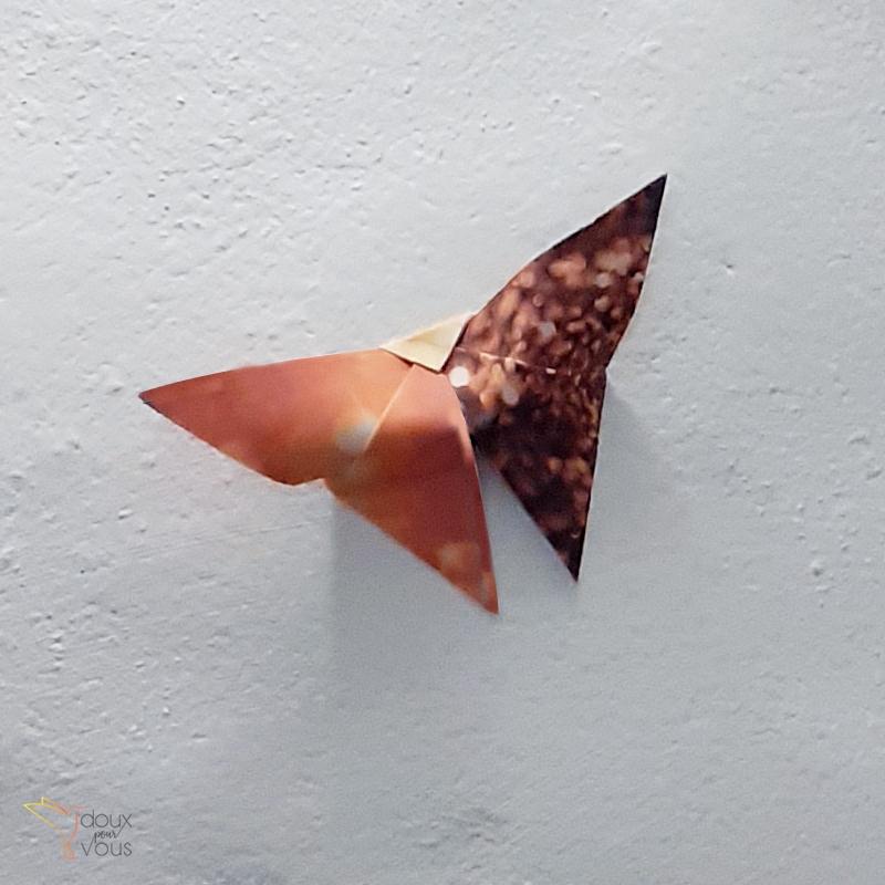 Origami : Grand Papillon.