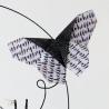 Détail : Origami papillon.