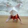 Renard en origami.