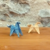 Origamis chevaux.