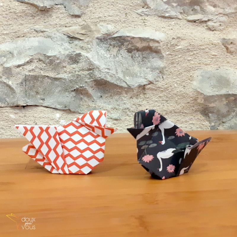 Origami : Poussin.