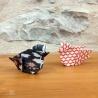Poussins en origami.