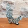 Écureuil en origami.