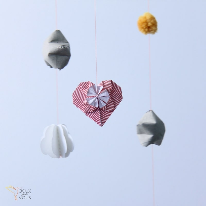 Origami : Cœur.