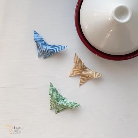 Origami : Papillon.